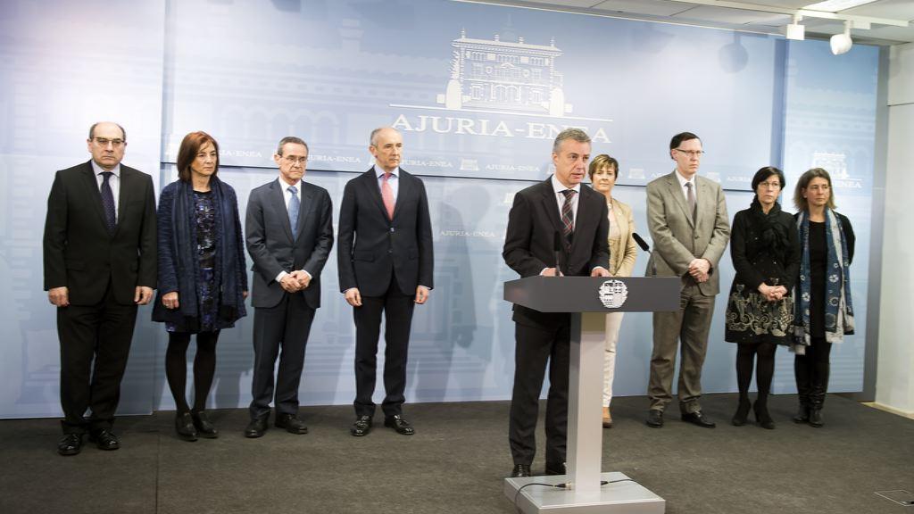 Declaración institucional del Gobierno Vasco sobre Europa