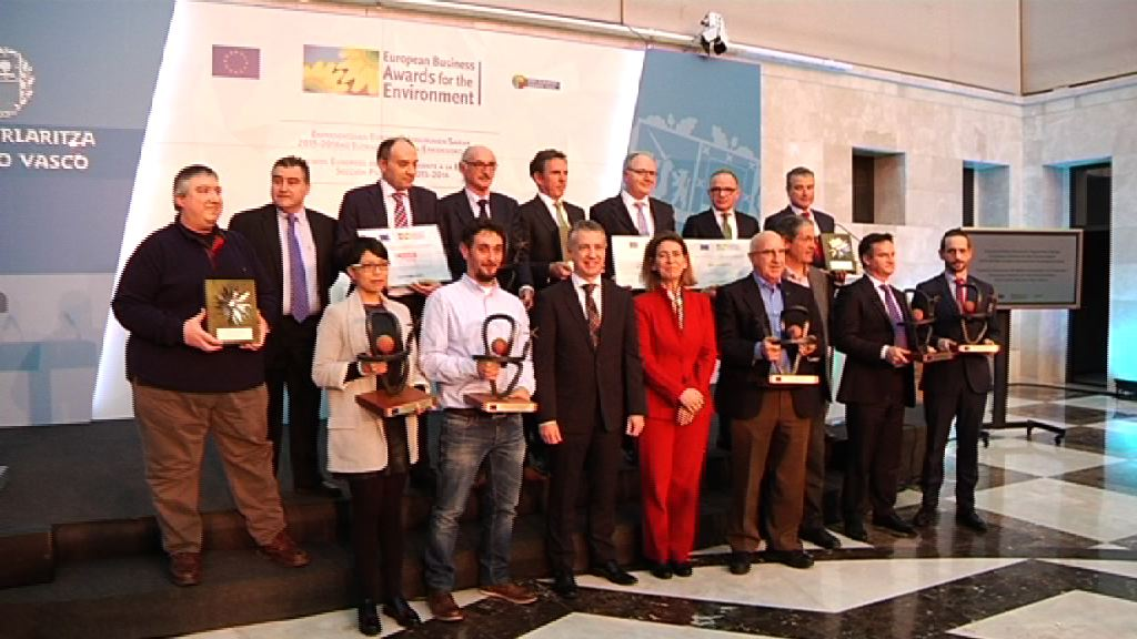 A&B Laboratorios, Energy Revival, Gerdau, Iberdrola, Ingeteam, ITP and Udapa, winners of the European Business Awards for the Environment of the Basque Country