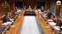 Andrés Zearreta comparece en el Parlamento vasco para explicar a los grupos de la Cámara el Proyecto de Ley del Empleo Público Vasco