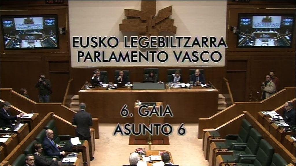 Galdera, Cristina Ruiz Bujedo Euskal Talde Popularreko legebiltzarkideak lehendakariari  egina, Euskadiko soldata-arrakalari buruz.