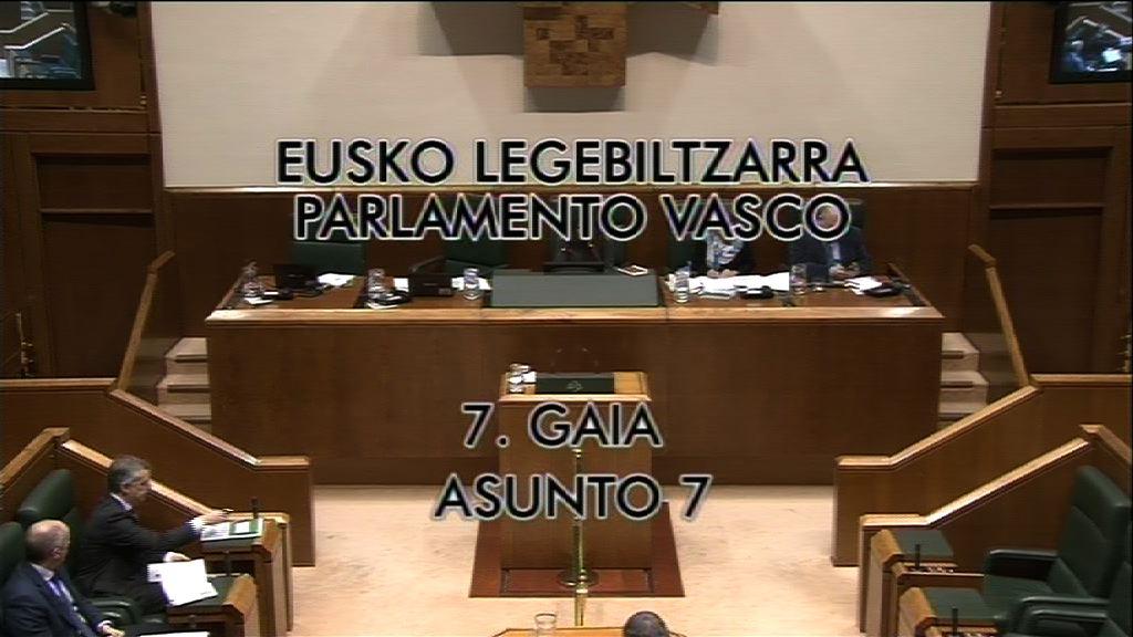 Pregunta formulada por D. Gorka Maneiro Labayen, parlamentario del grupo   Mixto-UPyD, al lehendakari, sobre la celebración en el País Vasco francés de la   fiesta de la escuela pública vasca.