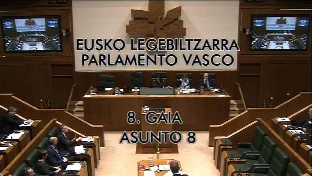Galdera, Maider Otamendi Tolosa EH Bildu taldeko legebiltzarkideak lehendakariari egina,   Lezoko alkatearen dimisioari buruz.