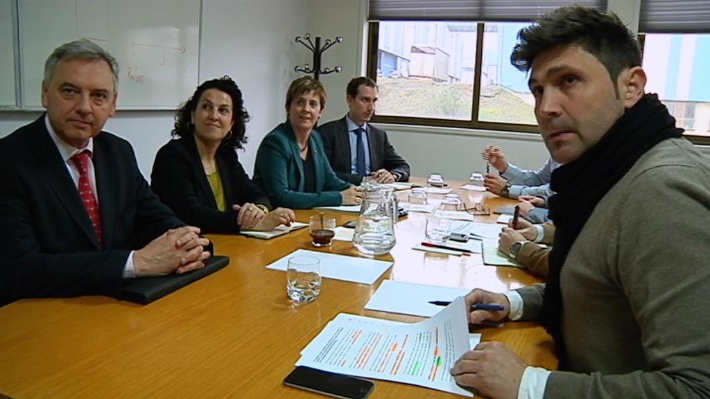 Valoración de la consejera Tapia sobre las reuniones mantenidas hoy en torno a Arcelor