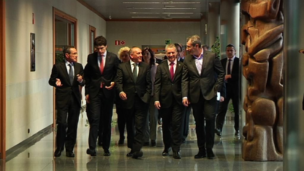 """Lehendakari: """"El espacio sociosanitario vasco ha pasado de ser un objetivo a ser una realidad tangible"""""""