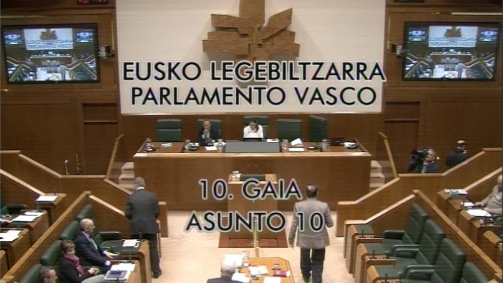 Pregunta formulada por D.ª Laura Garrido Knörr, parlamentaria del grupo Popular Vasco, al lehendakari, sobre posición del Gobierno Vasco ante los indicios judiciales de la comisión de diversos delitos por ex altos cargos del Departamento de Sanidad.