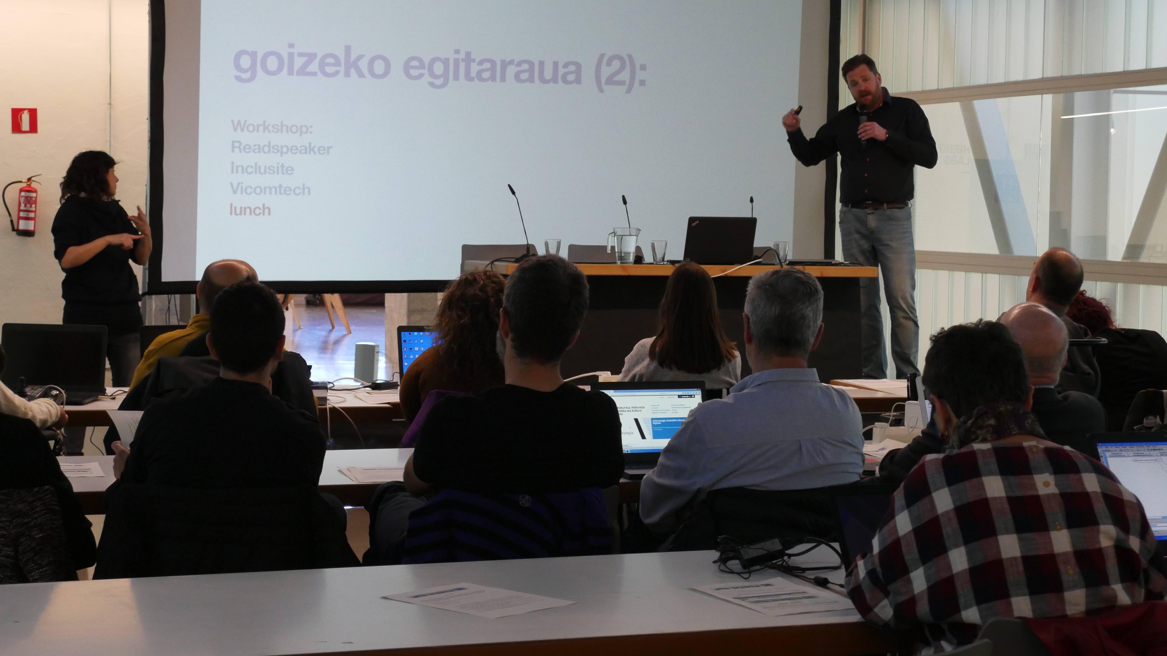 Irekia incorpora soluciones tecnológicas para que la ciudadanía con diversidad funcional pueda interactuar en la participación online