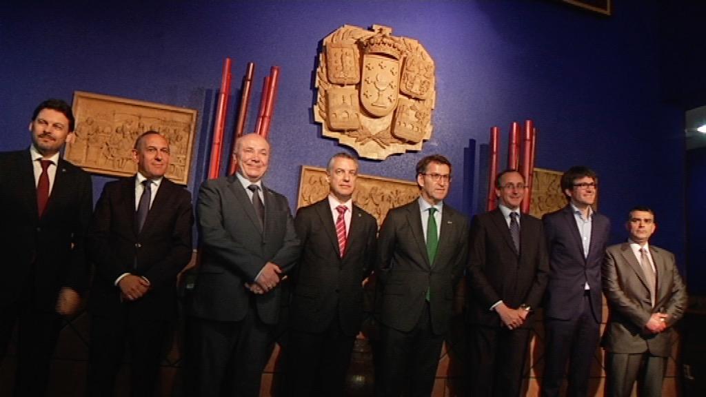 Lehendakaria Gasteizko Galiziako Zentroaren 60. urteurrenean izan da