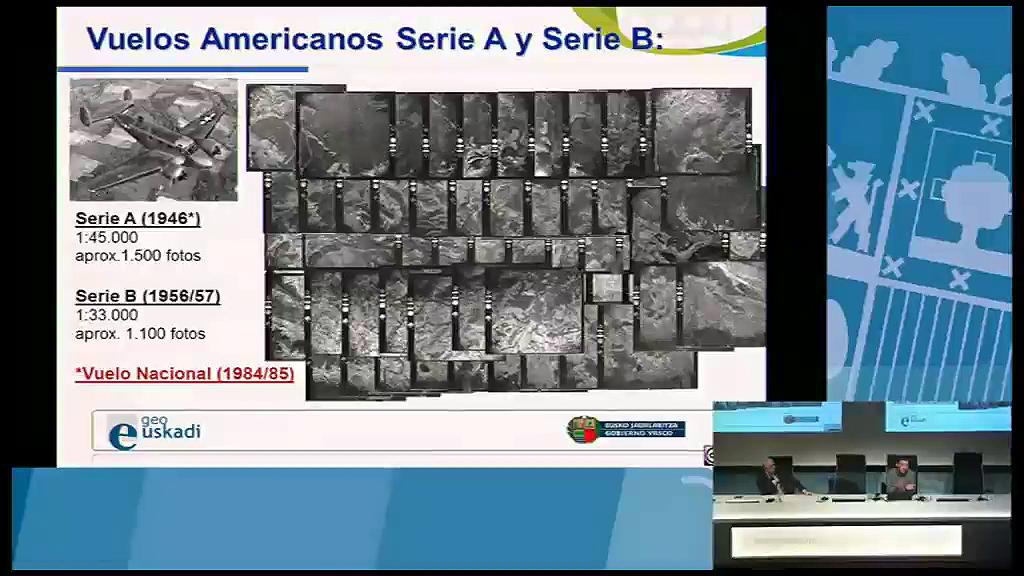 8º taller geoEuskadi. Nuevos vuelos americanos 1945/46 y 56/57. Gobierno Vasco. Juan Carlos Barroso