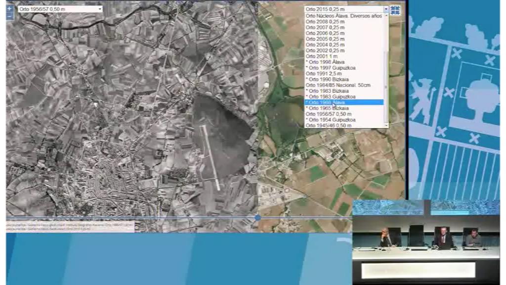 8º taller geoEuskadi. La cartografía como ayuda para la interpretación de la evolución urbanística. Gobierno Vasco. Jesús María Erquicia
