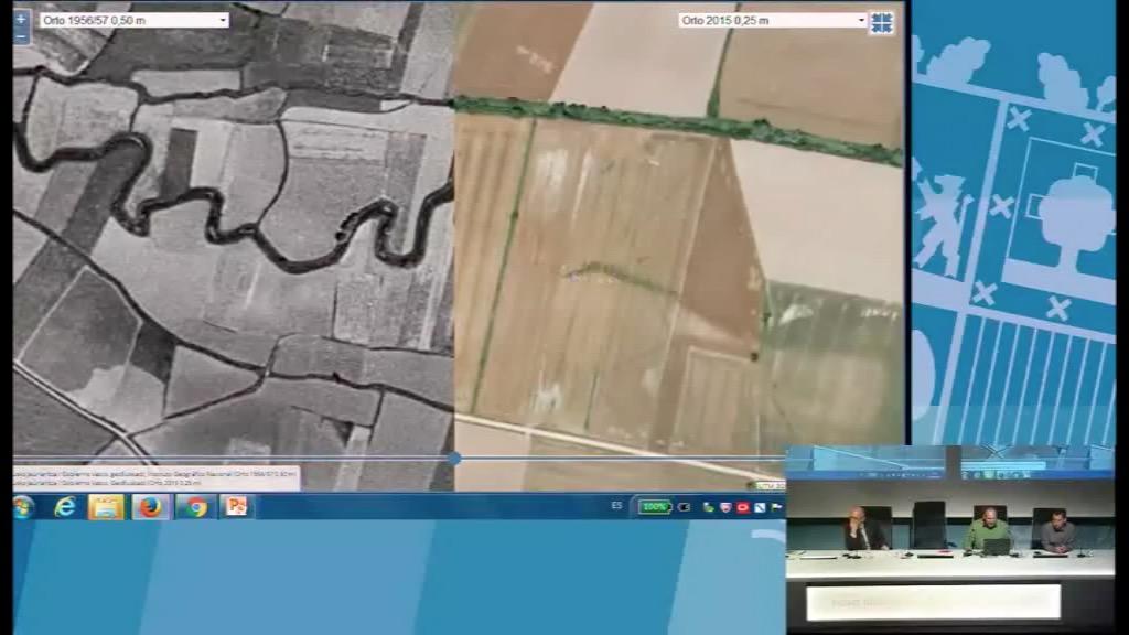 8º taller geoEuskadi. Cambios en nuestros ríos. URA-Agencia Vasca del Agua. Victor Peña