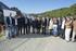 El lehendakari visita las obras de defensa ante inundaciones en el Urumea, en el barrio donostiarra de Martutene