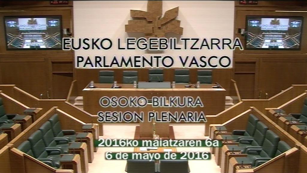 Pleno de Control (06/05/2016)