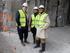 Oregi´k eta Aburto´k Bilboko alde zaharreko metroaren lanak erakutsi dizkiote Norman Foster arkitektoari