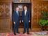 El lehendakari ha recibido en Ajuria Enea al embajador de Colombia