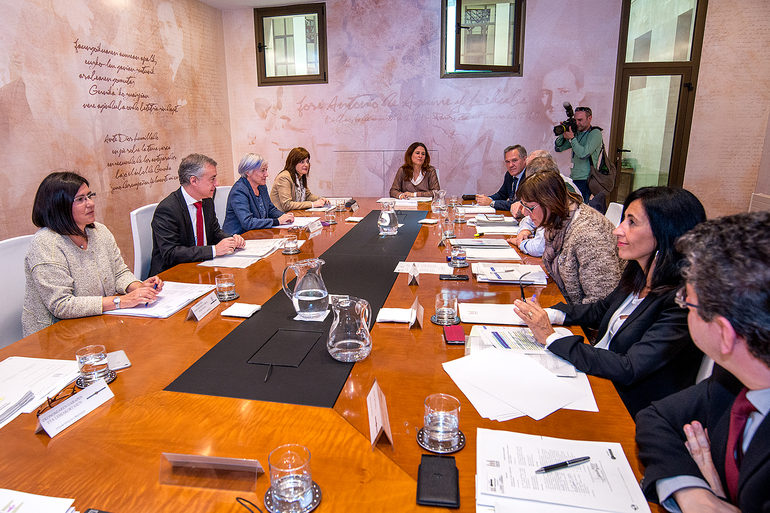 La buena posición de Euskadi en el índice de igualdad europeo, un incentivo para las políticas del Gobierno Vasco en la materia