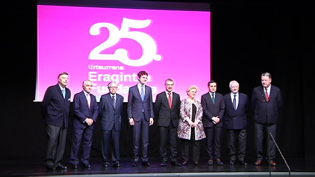 El lehendakari asiste al 25 aniversario de la Fundación Eragintza, dedicada a la inserción socio-laboral de personas con enfermedad mental