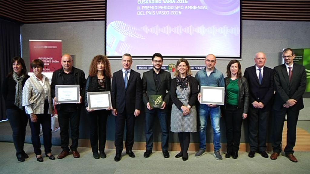 """El Gobierno Vasco concede el II Premio de Periodismo Ambiental, al periodista Jesús Méndez, por su trabajo sobre el """"Poliestireno"""""""