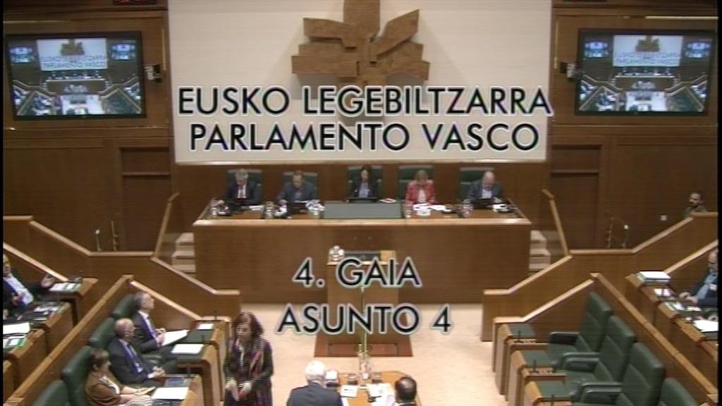Pregunta formulada por D.ª Nerea Llanos Gómez, parlamentaria del grupo Popular Vasco, al lehendakari, relativa a despliegue de EITB con la encuesta Focus.