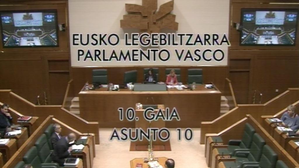 Pregunta formulada por D.ª Natalia Rojo Solana, parlamentaria del grupo Socialistas Vascos, al lehendakari, relativa a las declaraciones del lehendakari Urkullu en torno a los jóvenes.