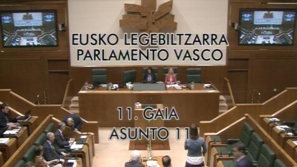 Pregunta formulada por D. Gorka Maneiro Labayen, parlamentario del grupo Mixto-UPyD, al lehendakari, sobre el desplome de la recaudación fiscal en Euskadi.