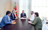 El lehendakari ha recibido a los organizadores de Araba Euskaraz