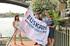 Expectación en Sevilla por la llegada de la Liga de Traineras y la muestra cultural que acompaña la promoción turística de la IV Bandera Euskadi Basque Country