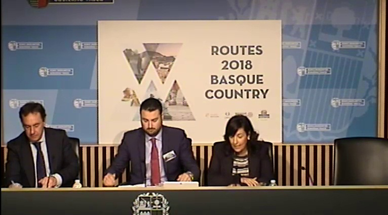 The Basque Country wins Routes Europe 2018