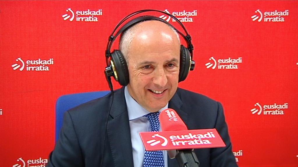 El portavoz del Gobierno vasco ha sido entrevistado en Euskadi Irratia