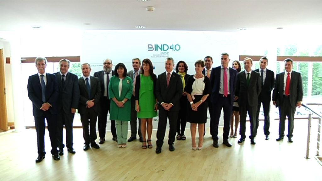 El lehendakari abre la jornada de presentación de la aceleradora Startup! Basque Industry 4.0