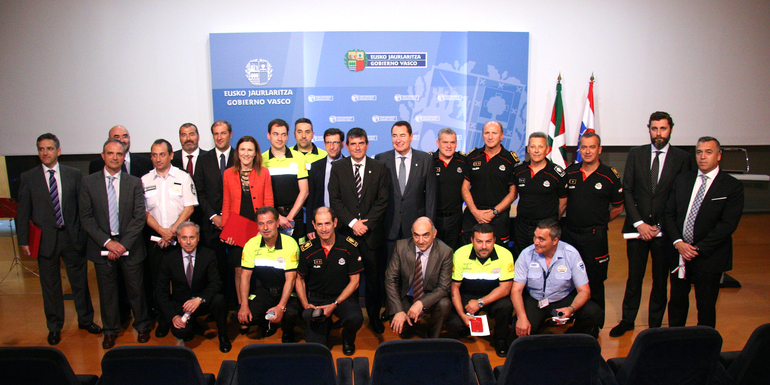 Concedidas las primeras menciones honoríficas en el ámbito de la seguridad privada en Euskadi