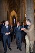 Lehendakaria Gasteizko Santa Maria Katedralaren kriptak museo bihurtzeko inaugurazio ekitaldian egon da