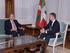 El lehendakari ha recibido en Ajuria Enea al embajador de Brasil