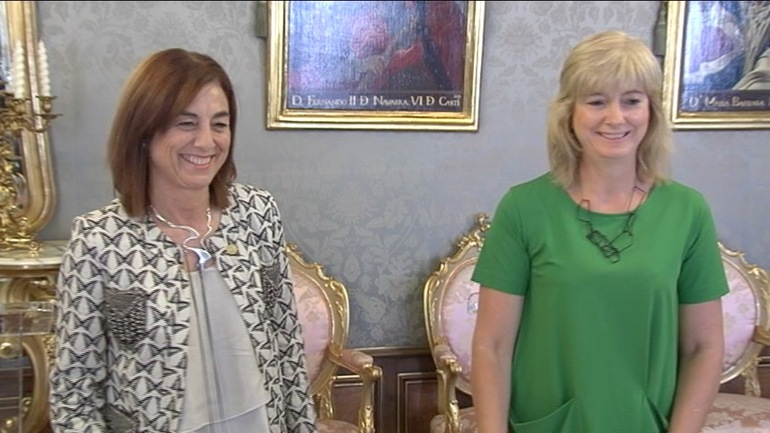 Navarra y País Vasco firman el convenio para la captación de EITB en Navarra
