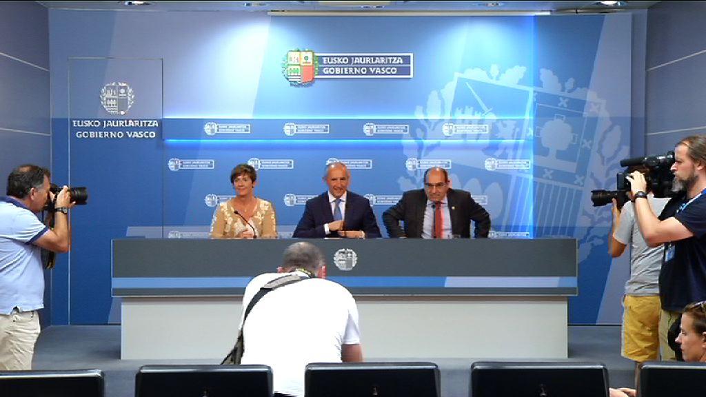 El Gobierno vasco recurrirá la sentencia del TSJPV y seguirá adelante con la OPE de la 25 promoción de la Ertzaintza