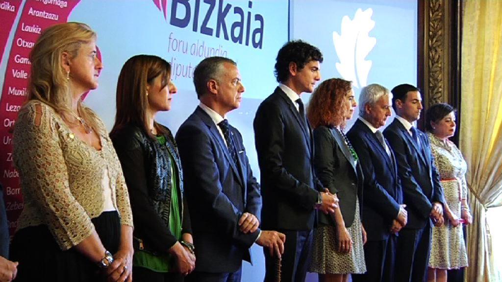 El Lehendakari asiste a la Recepción de  San Ignacio de la Diputación de Bizkaia