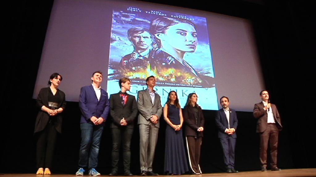 """El lehendakari  asiste al preestreno de la película """"Gernika"""" en el Guggenheim"""