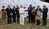 """Erkoreka y Tapia asisten a la botadura del barco """"Living Stone"""" en La Naval"""