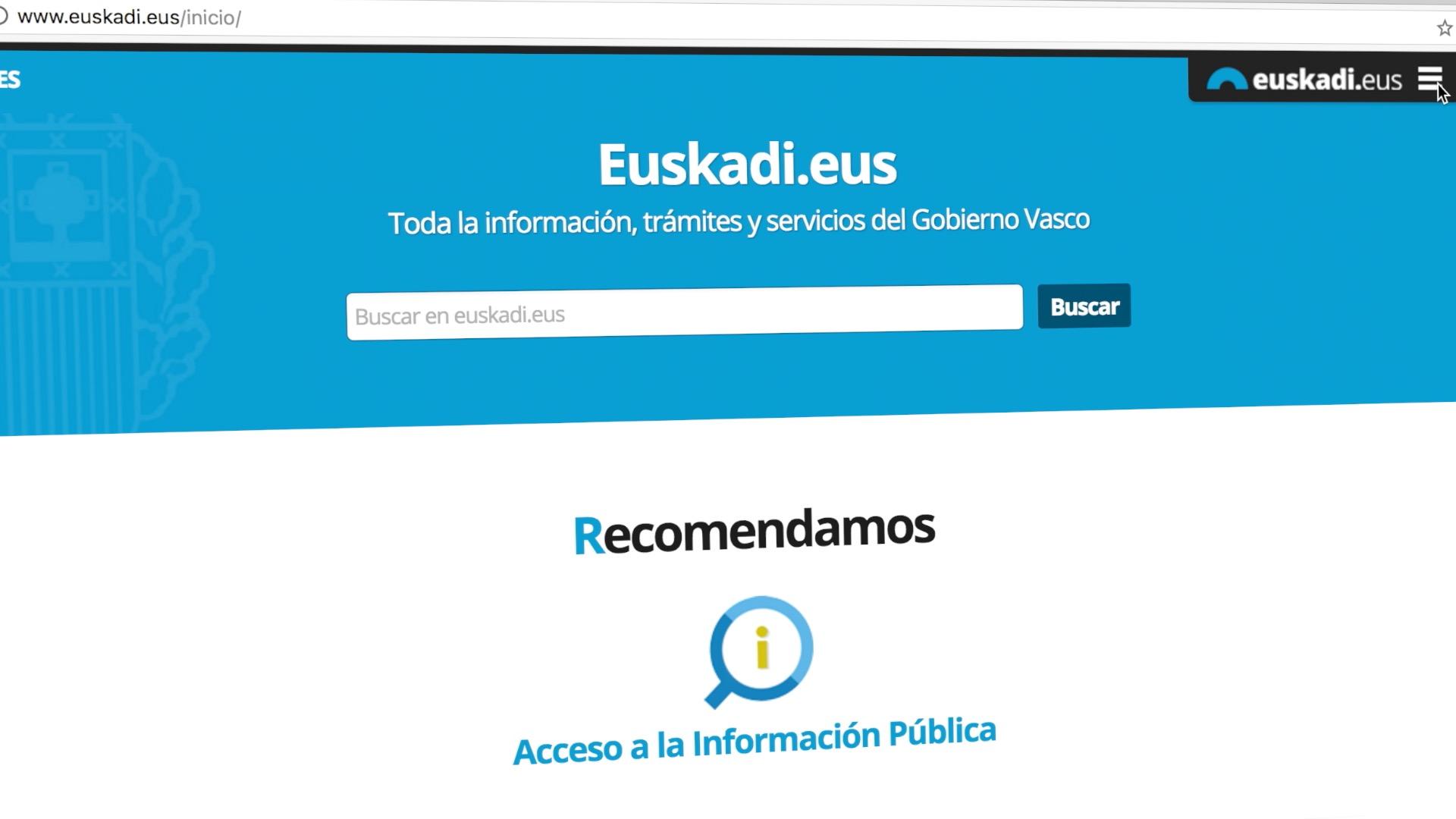 El Gobierno Vasco anima a la ciudadanía a ejercer el derecho de acceso a la información pública