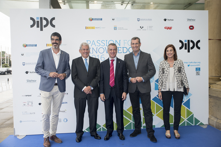 El lehendakari inaugura en San Sebastián el festival Passion for Knowledge 2016