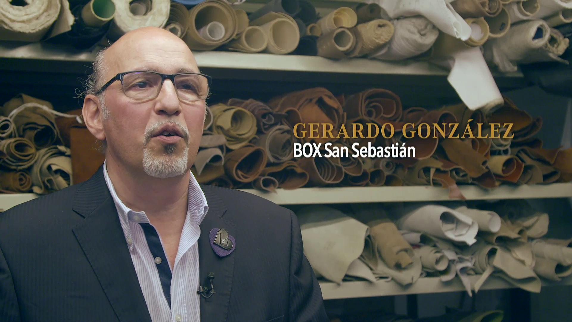 Merkataritza eta Turismo sariak. BOX - Gerardo González