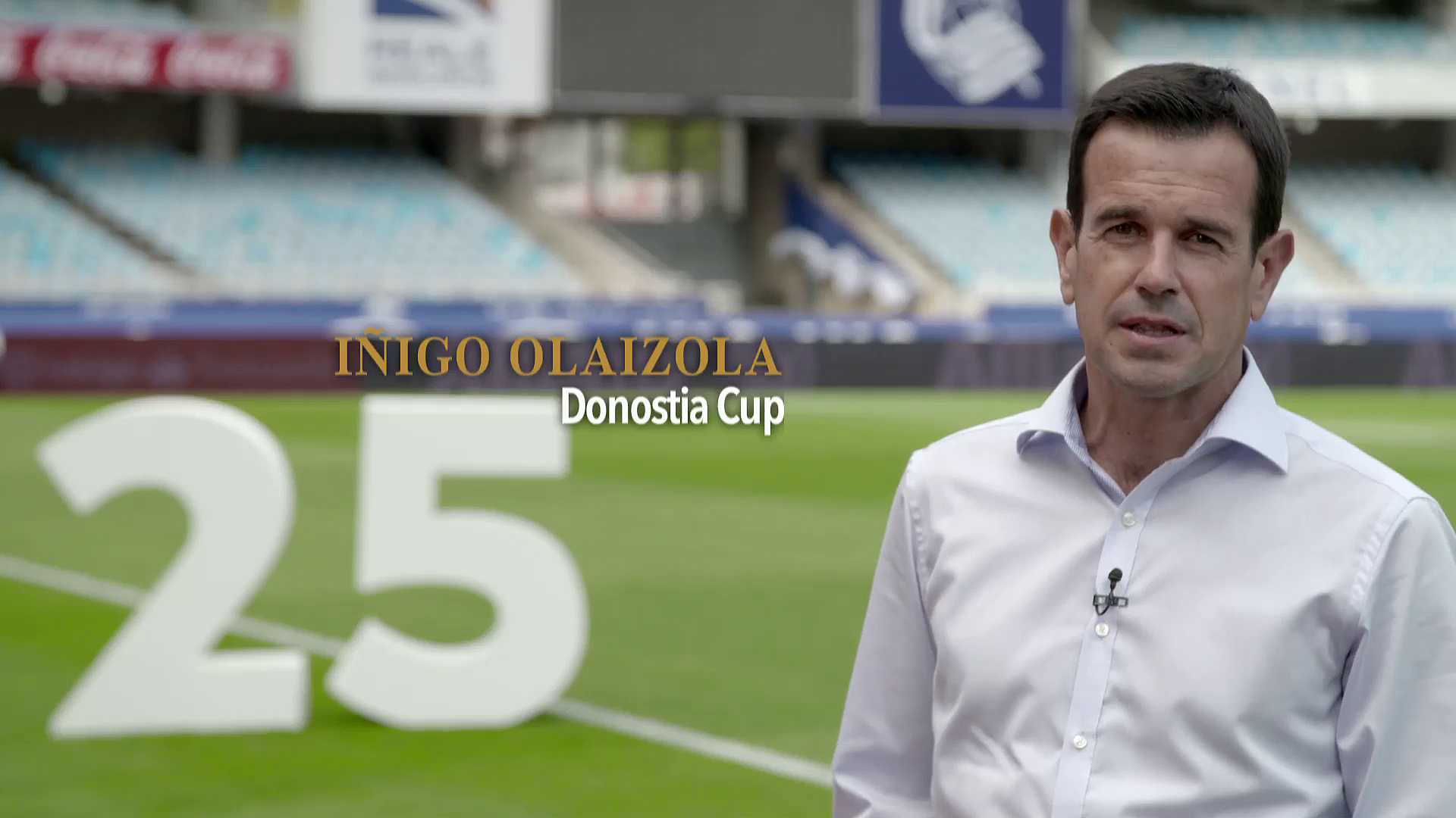 Merkataritza eta Turismo sariak. Donostia Cup25 - Iñigo Olaizola