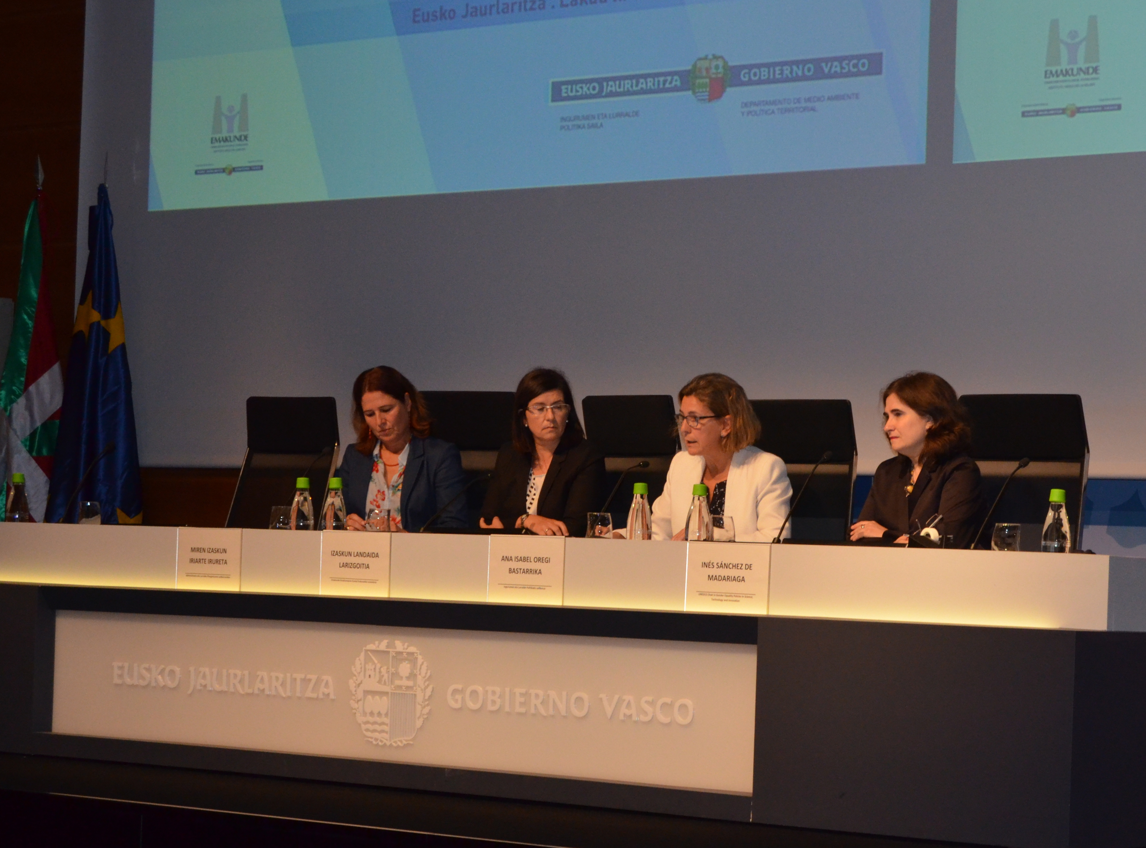 """Oregi: """"se han dado pasos positivos en la inclusión de género en el ámbito del urbanismo pero era precisa una actuación en la ordenación territorial"""""""