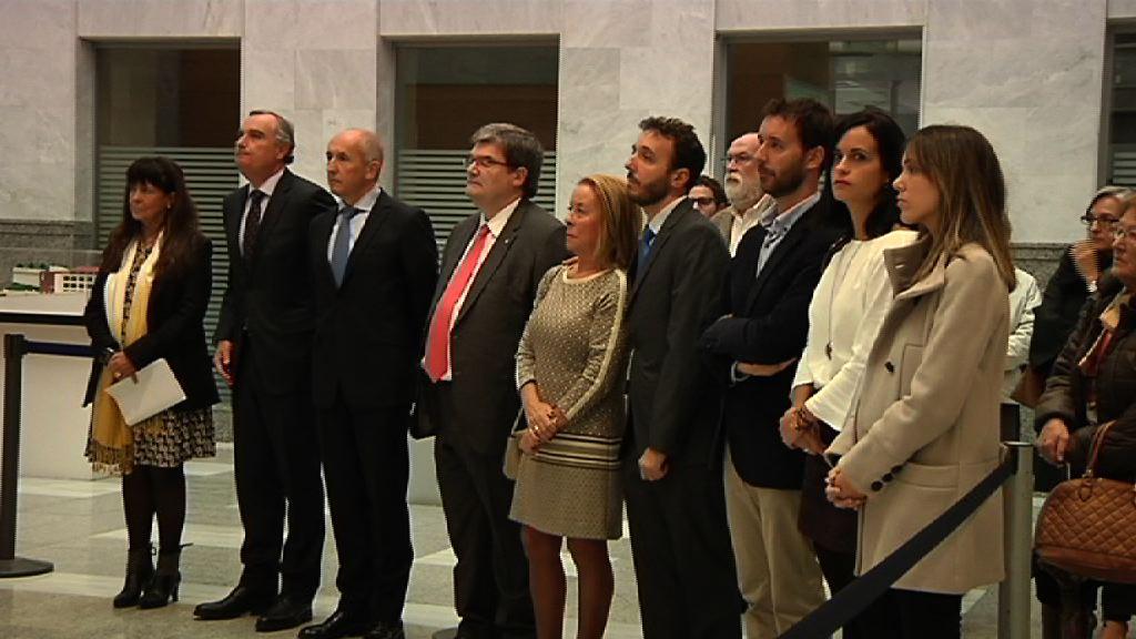 Eusko Jaurlaritzak José Maria Lidón magistratuari egin zaion omenaldian parte hartu du