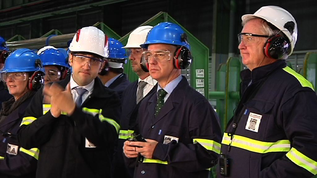 El Lehendakari ha visitado la planta OCTG de Tubacex, la más puntera del grupo en Euskadi