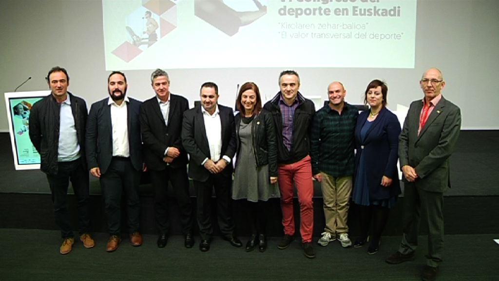 """Euskadiko Kirolaren VI Biltzarra. """"Kirolaren zehar-balioa"""""""