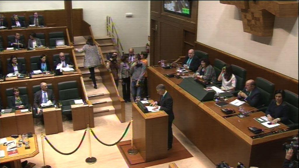 El Parlamento Vasco acoge el Pleno para designar al Lehendakari
