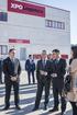 El Lehendakari visita el nuevo centro de coordinación de transporte internacional de XPO Logistics ubicado en Oiartzun