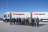 Lehendakariak XPO Logistics enpresak Oiartzunen duen nazioarteko garraioa koordinatzeko zentro berria bisitatu du
