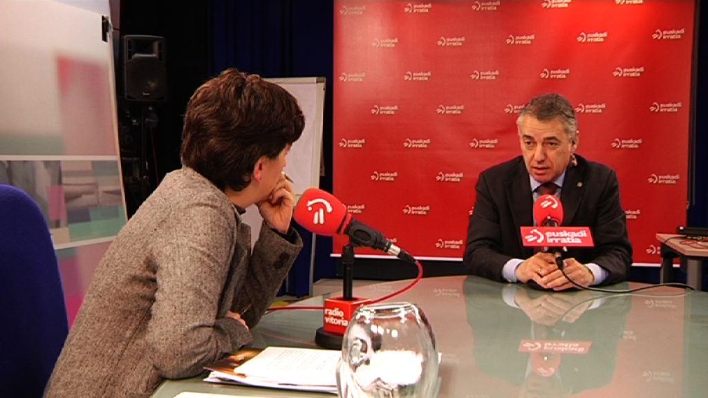 """Lehendakari: """"El proceso de desarme de ETA tiene que contar con garantías"""""""