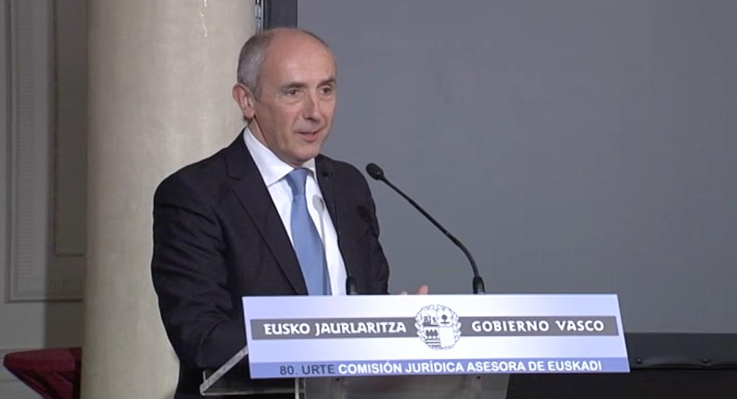 Euskadiko Aholku Batzorde Juridikoak 80 urte bete ditu